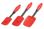 G&S Metal Products 3 Piece Red Silicone Tool Set