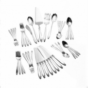 International Silver Prelude Place Size 46-Piece Flatware Set, Service for 8