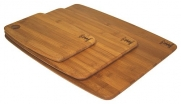 3 Piece Valencia Bamboo Board Set by Simply Bamboo