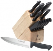 J.A. Henckels International Everedge 13-Piece Knife Set with Bonus Cheese Knife