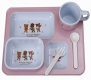 Practical Baby Eating Plates Children's Tableware Cute Points Tray, Style B