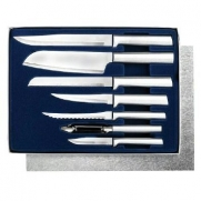 Rada Cutlery Starter Set, 7 Pc Boxed Gift Set, Made in USA with Mini Tool Box (cog)