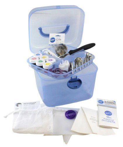 Wilton Cake Decorating Basics Dvd Free Download : WILTON 2201-3337 Tool Caddy Cake Decorating Set - 40-Piece ...