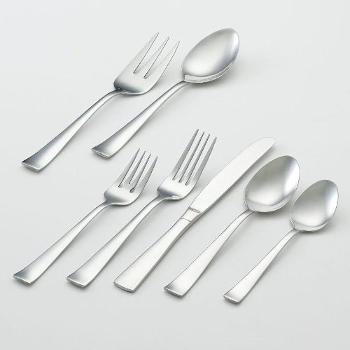 Oneida zinc 82 pc flatware set oneida oneida h083082a for Kitchen set zink
